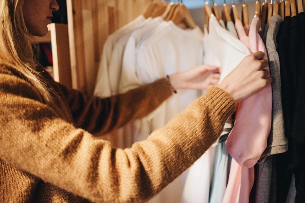 Je préfère acheter mes vêtements en seconde main